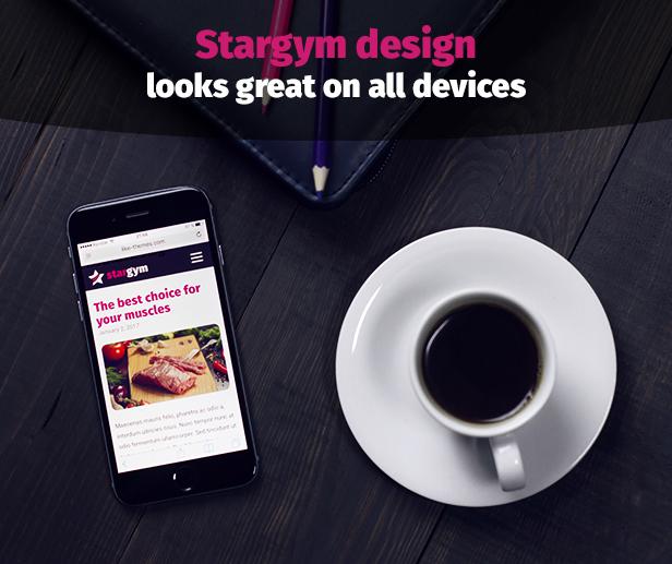 Stargym - Gym Trainer, Fitness Club and Gym WordPress Theme - 5