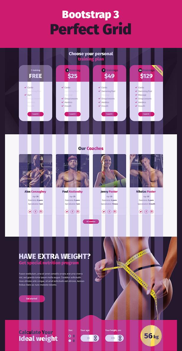 Stargym - Gym Trainer, Fitness Club and Gym WordPress Theme - 7